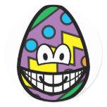 Easter egg smile   sticker_sheets