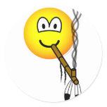 Peacepipe emoticon   sticker_sheets