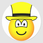 Yellow hat emoticon Six Thinking Hats - Speculative positive  sticker_sheets