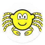 Cancer buddy icon Zodiac sign  sticker_sheets