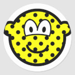 Polka dotted buddy icon   sticker_sheets