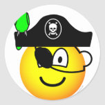 Pirate with parrot emoticon   sticker_sheets