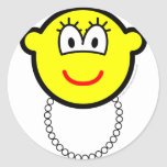 Pearl necklace buddy icon   sticker_sheets
