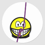 Abseiling smile   sticker_sheets