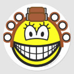 Curling smile Permed  sticker_sheets