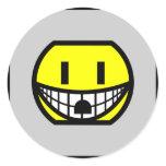 Wall socket smile   sticker_sheets