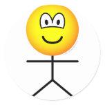 Stickfigure emoticon man  sticker_sheets
