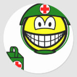 M*A*S*H smile medic  sticker_sheets