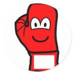 Boxingglove emoticon   sticker_sheets