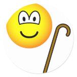 Walking cane emoticon   sticker_sheets