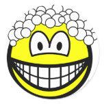 Hair washing smile   sticker_sheets