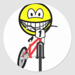 BMX smile Olympic sport Cycling sticker_sheets