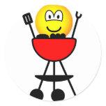 BBQ emoticon   sticker_sheets
