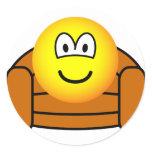 Armchair emoticon   sticker_sheets