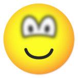 Blurry eyed emoticon   sticker_sheets