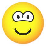 Round eyed emoticon   sticker_sheets
