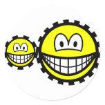 Cogwheels smilies   sticker_sheets