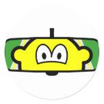 Rear-view mirror buddy icon   sticker_sheets