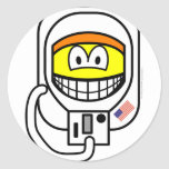 Astronaut smile   sticker_sheets