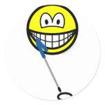 Metaldetector smile   sticker_sheets