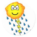 Thunder cloud emoticon   sticker_sheets