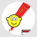 Painting with roller buddy icon   sticker_sheets