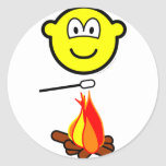 Campfire marshmallow buddy icon   sticker_sheets