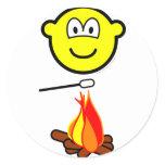 Campfire marshmallow buddy icon   sticker_sheets