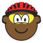 Biker buddy icon muddy  sticker_sheets