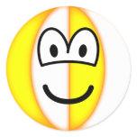 Beachball emoticon   sticker_sheets