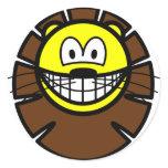Leo smile Zodiac sign  sticker_sheets