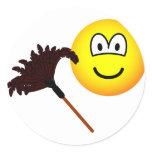 Dusting emoticon   sticker_sheets
