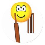 Cricket emoticon   sticker_sheets