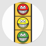 Traffic light smile   sticker_sheets