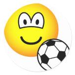 Footballing emoticon soccer  sticker_sheets
