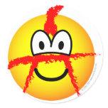 Anarchist emoticon   sticker_sheets