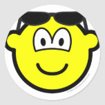 Sun glasses on head buddy icon   sticker_sheets