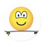 Skateboarding emoticon   sticker_sheets