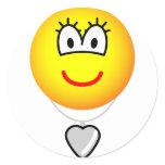 Heart shaped locket emoticon   sticker_sheets