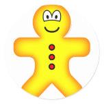 Gingerbread emoticon   sticker_sheets