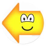 Left emoticon arrow  sticker_sheets