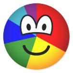 Pie chart emoticon   sticker_sheets