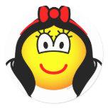 Snowwhite emoticon   sticker_sheets