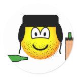 Bum emoticon   sticker_sheets