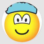 Shower cap emoticon   sticker_sheets