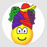 Fruit hat emoticon   sticker_sheets
