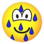 Stressed emoticon   sticker_sheets