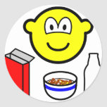Breakfast buddy icon cereal  sticker_sheets