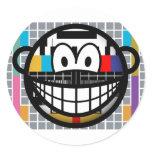 Test pattern smile   sticker_sheets