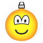 Christmas ball emoticon   sticker_sheets